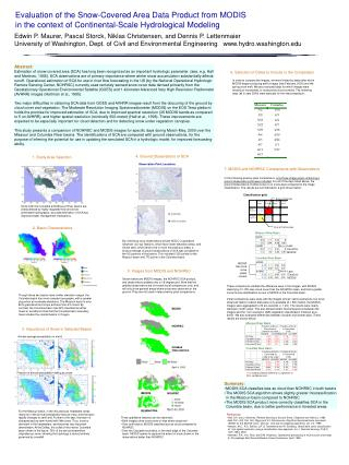 Evaluation of the Snow-Covered Area Data Product from MODIS