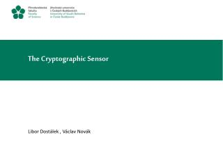 The Cryptographic Sensor
