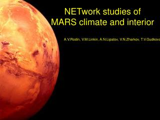 NETwork studies of  MARS climate and interior