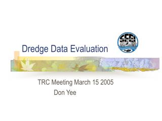 Dredge Data Evaluation