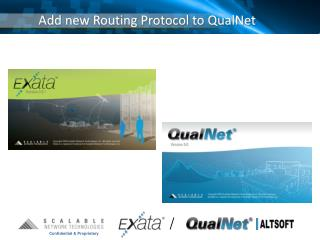 Add new Routing Protocol to QualNet