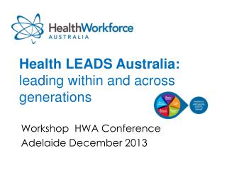 Health LEADS Australia:  leading within and across generations