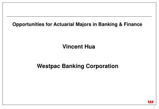 Opportunities for Actuarial Majors in Banking & Finance