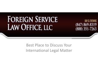 Foreign Law Office LLC - Best Place to Discuss Your Internat