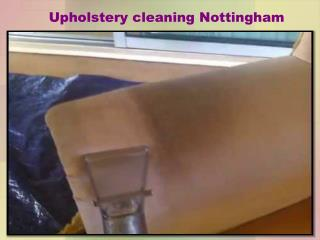 Upholstery Cleaning Nottingham