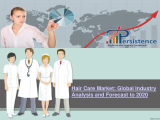 Global Hair Care Market Research Report: Analysis and Foreca