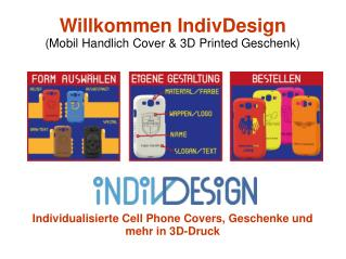 Individualisierte Handytaschen und 3D Printed Geschenke