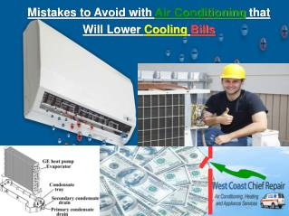 Mistakes to Avoid with Air Conditioning that Will Lower Cool