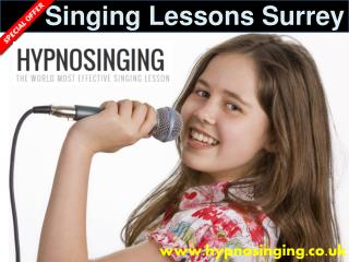 Singing Lessons Surrey