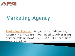 Top Level Advertising Companies in Singapore