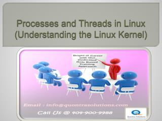 Process and Threads in Linux - PPT