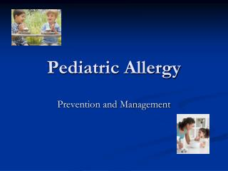 Pediatric Allergy