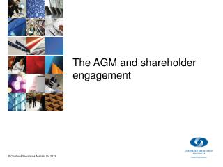 The AGM and shareholder  engagement