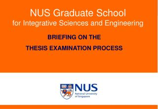 NUS Graduate School for Integrative Sciences and Engineering