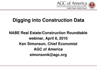 Digging into Construction Data