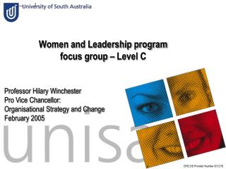 Women and Leadership program focus group – Level C