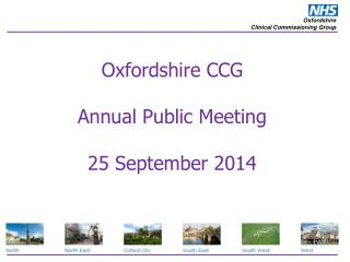 Oxfordshire CCG  Annual Public Meeting  25 September 2014