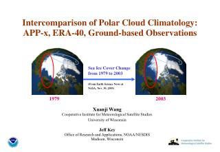 Intercomparison of Polar Cloud Climatology: APP-x, ERA-40, Ground-based Observations