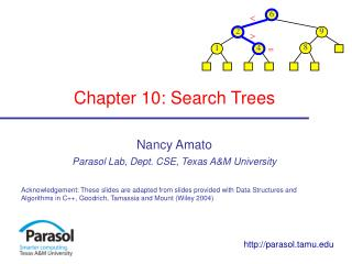 Chapter 10: Search Trees