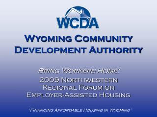 Wyoming Community Development Authority