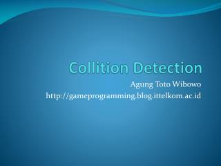 Collition  Detection