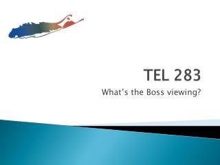 TEL 283