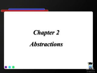Chapter  2  Abstractions