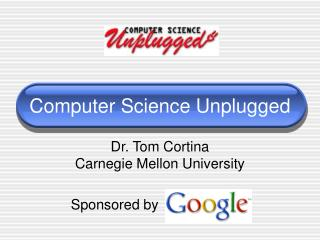 Computer Science Unplugged