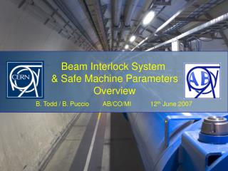 Basics of the Beam Interlock System