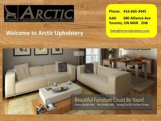 Arctic Upholstery