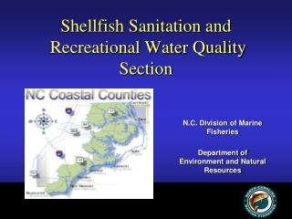 Shellfish Sanitation and  Recreational Water Quality Section