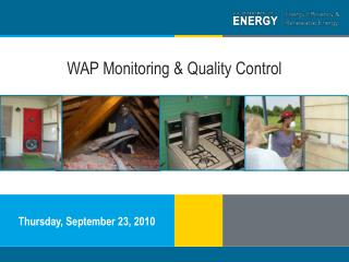 WAP Monitoring & Quality Control