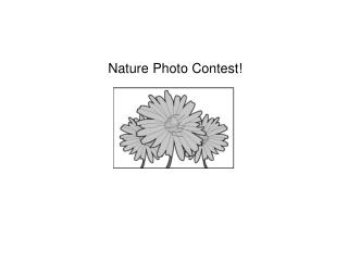 Nature Photo Contest!