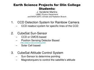 CCD Detection System for Rainbow Camera  CCD readout system for specific lines of the CCD