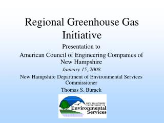 Regional Greenhouse Gas Initiative