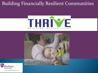 Building Financially Resilient Communities