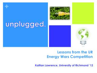 Lessons from the UR  Energy Wars Competition