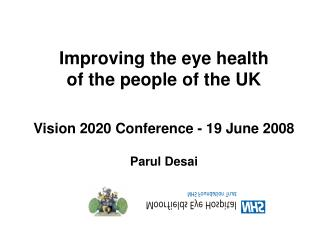 Improving Eye Health