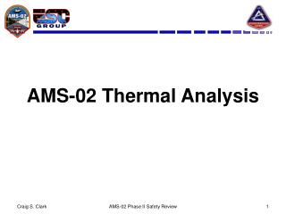 AMS-02 Thermal Analysis