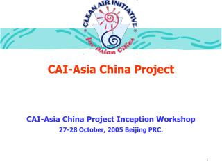 CAI-Asia China Project