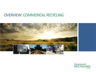 OVERVIEW:  COMMERICAL RECYCLING
