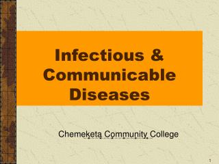 Infectious & Communicable Diseases