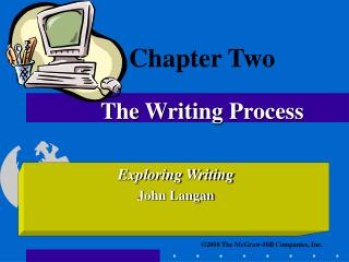Chapter Two The Writing Process