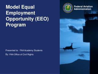 Model Equal Employment Opportunity (EEO) Program