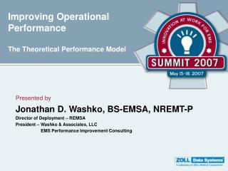 Improving Operational Performance  The Theoretical Performance Model