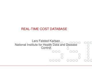 Real-time  cost  database