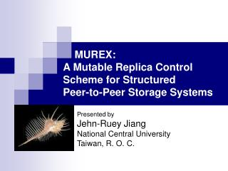 MUREX:  A Mutable Replica Control Scheme for Structured Peer-to-Peer Storage Systems