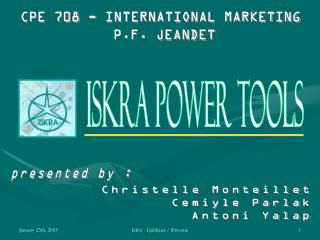 Iskra Power Tools