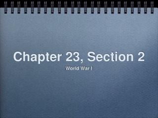 Chapter 23, Section 2