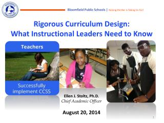 Rigorous Curriculum Design:  What Instructional Leaders Need to Know